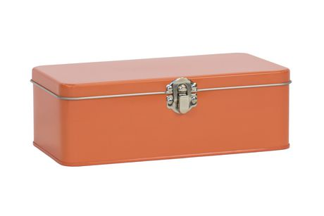 Orange Large Pencil Tin