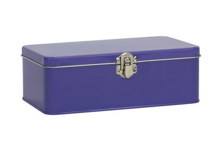 Purple Large Pencil Tin