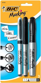 Mark-It Mixed Ultra Fine/Fine/Chisel Permanent Markers