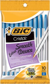 Cristal10 mm Medium Point Extra Smooth Ball Pens