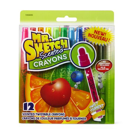 Assorted Scented Twistable Crayons