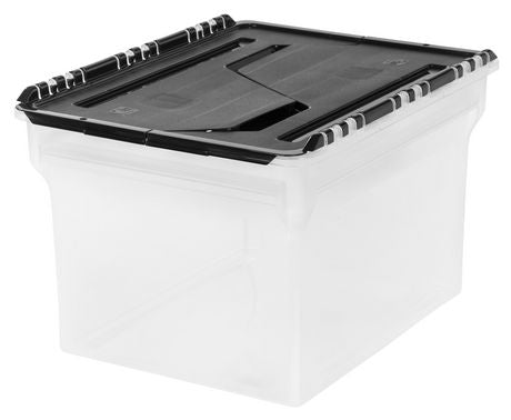 Wing-Lid File Box