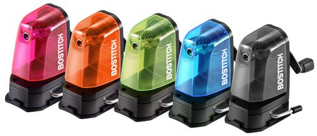 Multi-Mount Assorted Colours Manual Pencil Sharpener