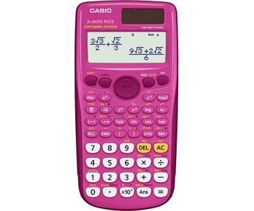 Casio Canada Pink Scientific Calculator