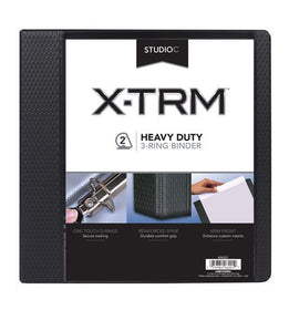 "2"" Vinyl Black Heavy Duty Binder"