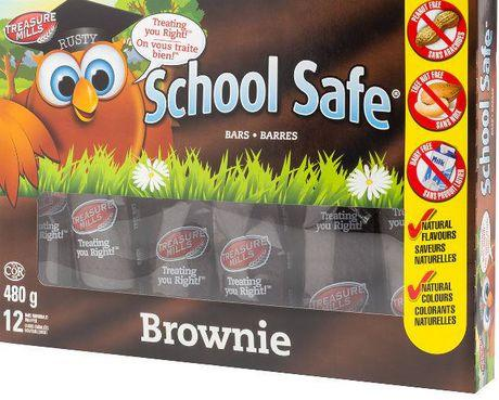 School Safe Brownie Bars