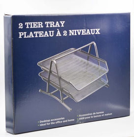 100 % Metal 2-Tier Document Tray
