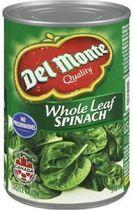 Del Monte® Whole Leaf Spinach