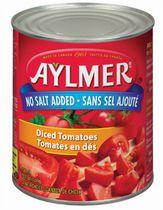 Aylmer® No Salt Whole Tomatoes