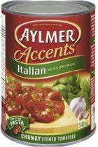 Aylmer® Accents Italian Seasonings Chunky Stewed Tomatoes