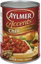 Aylmer® Accents Chili Seasoning Diced Stew Tomatoes