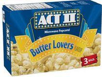 ACTII® Microwave Popcorn - Butter Lovers Flavour
