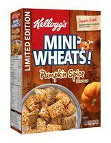 Kellogg's Mini-Wheats Pumpkin Spice Cereal