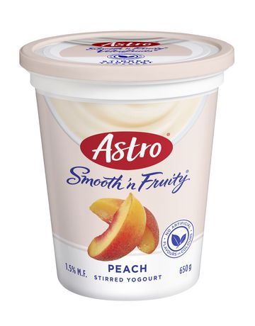 Astro® Smooth 'n Fruity® Peach Yogurt