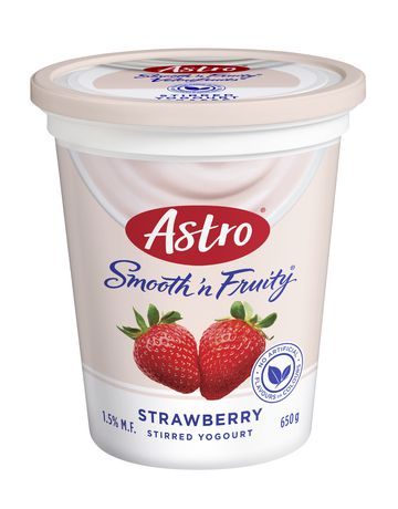 Astro® Smooth 'n Fruity® Strawberry Yogurt