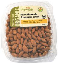 Organically Yours Gluten Free Organic Raw Almonds