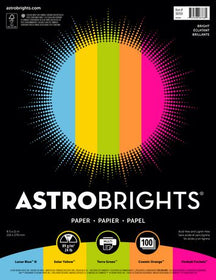 Astrobrights 5-Color Assorted Bright Paper