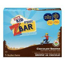 Clif Kid Organic ZBAR Chocolate Brownie Baked Whole Grain Energy Snack