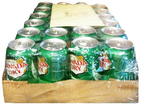 Ginger Ale Cans