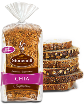 Flax And Chia Bread Loaf