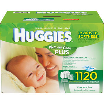 Natural Care Plus Baby Wipes
