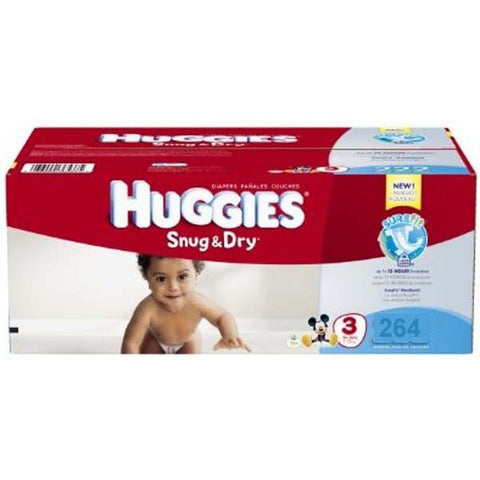 Snug & Dry Plus Diapers Size 3
