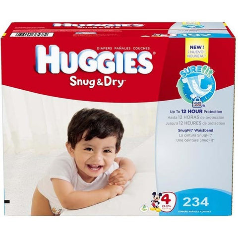 Snug & Dry Plus Diapers Size 4