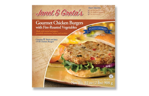 Gourmet Chicken Burger