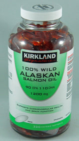 100% Pure Alaskan Salmon Oil