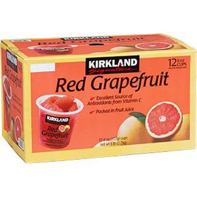 Red Grapefruit Cups