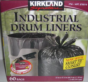 "Industrial Drum Liners 35"" x 47.5"""