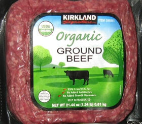 Lean Organic Ground Beef