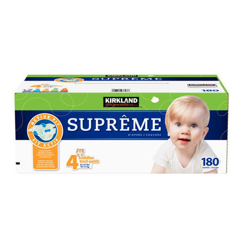 Supreme Diapers Size 4