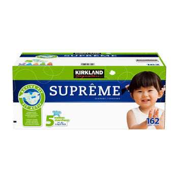 Supreme Diapers Size 5