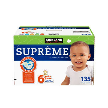 Supreme Diapers Size 6