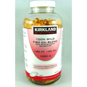 Wild Fish Oil With Salmon