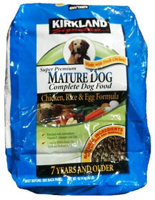Nature Dog (7+) Dog Food (Chicken, Rice, Egg)
