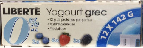Greek Yogurt 0% Variety Pack