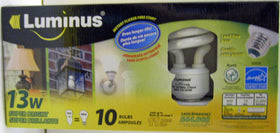 13 W CFL Spiral Light Bulbs