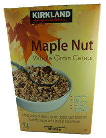 Mapple Nut Whole Grain Cereal