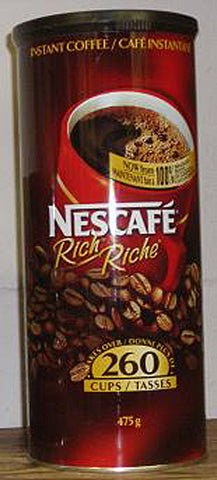 Instant Coffee Rich