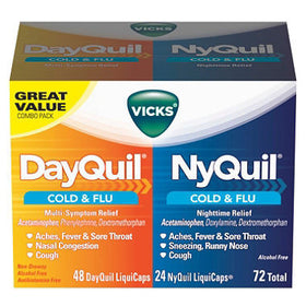 NyQuil Dayquil Cold And Flu