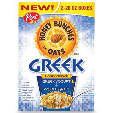 Honey Bunches of Oats Greek Yogurt