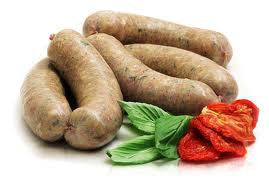 Sun Dried Tomato & Basil Chicken & Turkey Sausages