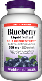 Blueberry 36:1 Antioxidant 500 mg