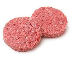 Lean Ground Beef Burger Patties