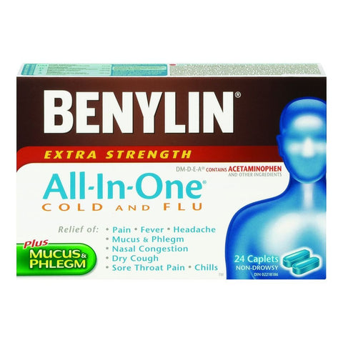 All-in-One Cold and Flu Extra Strength