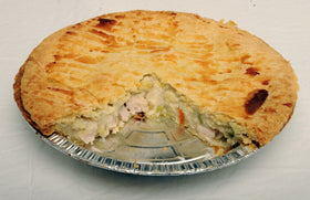Chicken Pot Pie 10""