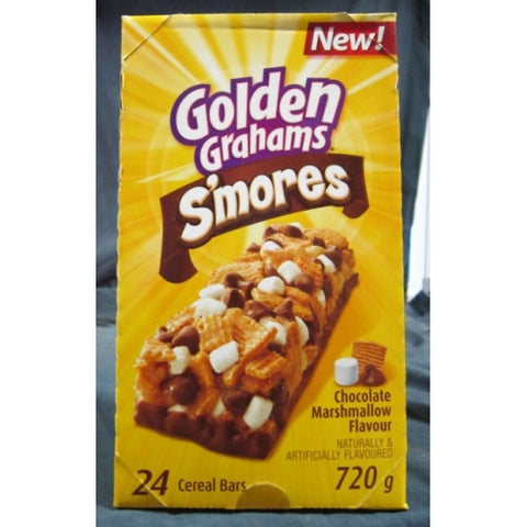 Golden Grahams S'mores Chewy Bars