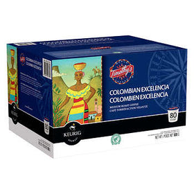 Timothy's Colombian Excelencia - House Blend - 80 K-Cups